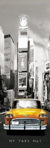 GB Eye LTD, New York, Taxi No 1, Poster Puerta, 53 x 158 cm