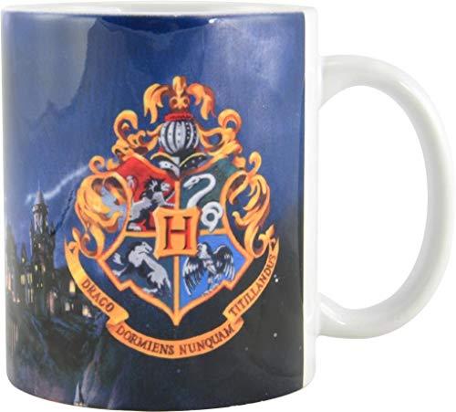 Harry Potter Tasse Hogwarts aus Porzellan, 320 ml, Bunt, 320Ml