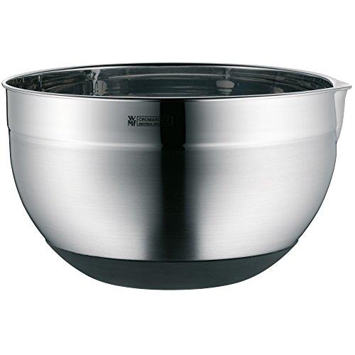 WMF Gourmet Küchenschüssel 24 cm, Rührschüssel 4,0l, Cromargan Edelstahl, spülmaschinengeeignet