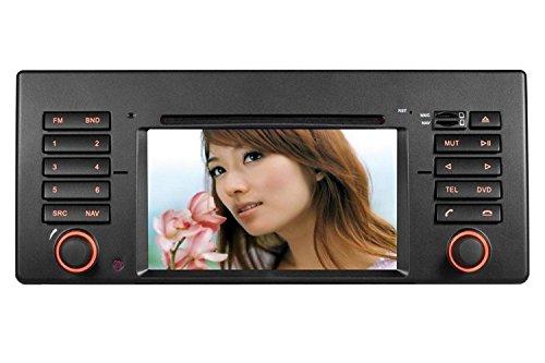 Gowe Auto-DVD-Player, 15,2 cm, GPS-Navigation für BMW 7er E38 5er E39 1998–2006, mit Bluetooth/Radio/RDS/iPod/ATV/Canbus/SWC