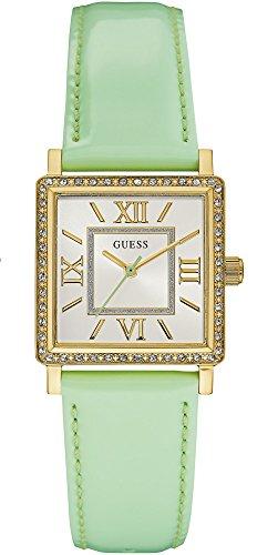 Guess Reloj Analogico para Mujer de Cuarzo con Correa en Cuero W0829L9