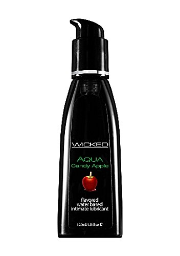 Wicked Sensual Care Wicked Aqua Candy Apple Water Based Lubricant 4 Oz