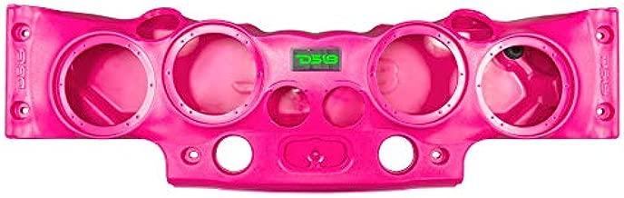 DS18 JK-SBAR/Pk Pink Jeep Wrangler Overhead Soundbar for Jk & JKU 2007-2017 Will accommodate 4 X 8-Inch Speakers, 4 X 1.75-Inch Tweeters, 2 X 1.31-Inch Screw-On Drivers (Pink)