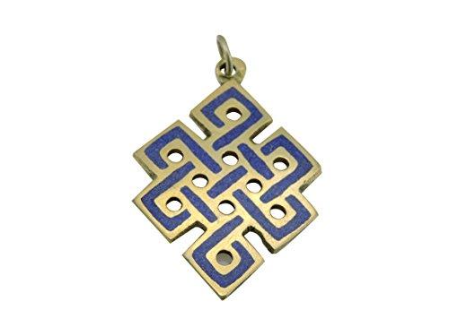 Eternal Knot Pendant From Nepal