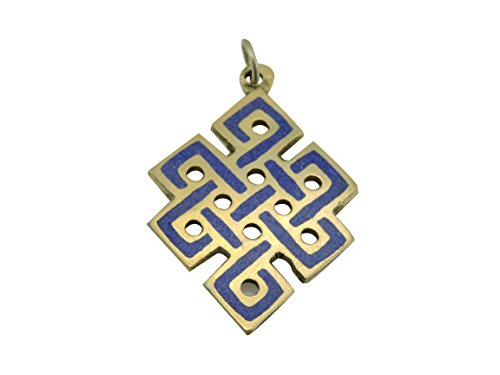 Eternal Knot Pendant From Nepal