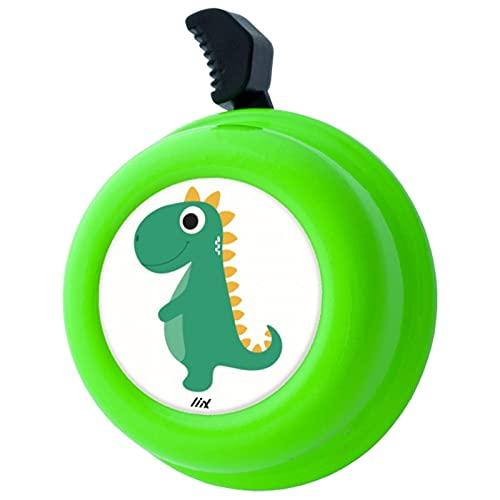 Liix Colour Bell neu 2021 Dinosaurier Tier Zoo Fahrradklingel für Kinder und Erwachsene Elefanten Design und mit einfacher Montage