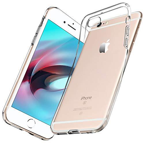 wsiiroon Hülle für iPhone 6 iPhone 6S Handyhülle, Ultra Dünn Clear Silikonhülle, Flexibilität TPU Soft Schutzhülle, Anti-Kratz, Stoßdämpfung TPU Case Cover für iPhone 6/6S (Transparent)