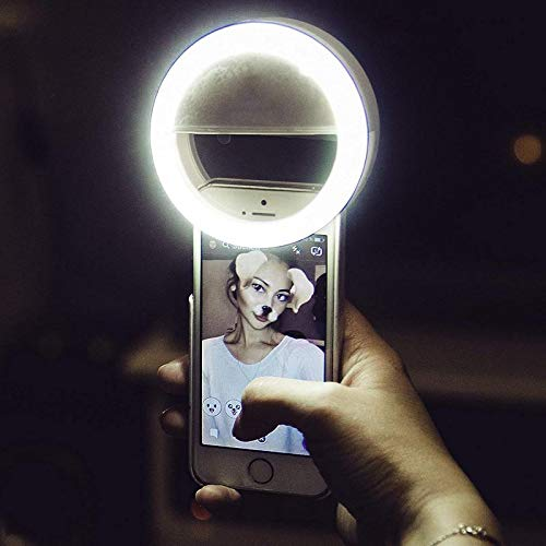 Shopy Unlimited Soft White Color Selfie Ring Light with 3 Modes and...