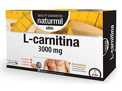 DietMed L Carnitina Slim 3000mg Viales 20 Unidades 450 g