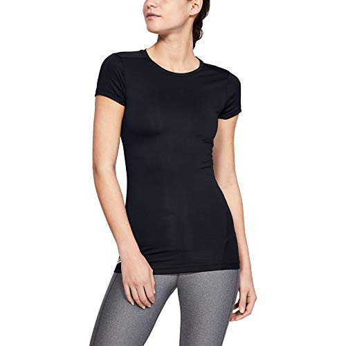 Under Armour Women's Tactical HeatGear Compression, Black /Black, X-Large