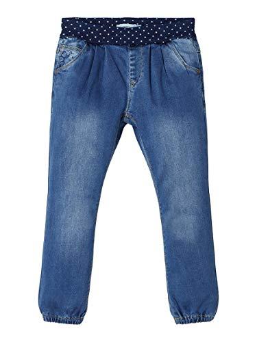 NAME IT Mädchen NMFBIBI DNMTORA 2304 Pant NOOS Jeans, Medium Blue Denim, (Herstellergröße:104)