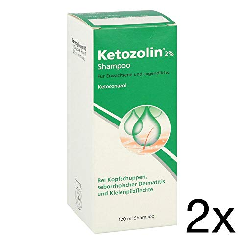 Ketozolin Shampoo 2x120ml Spar-Set inclusive einer Handcreme von vitenda.de