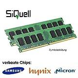 Mémoire RAM Samsung Hynix Micron DDR2 800 MHz (PC2 6400U) LO Dimm - 4Go (2 x 2 Go)