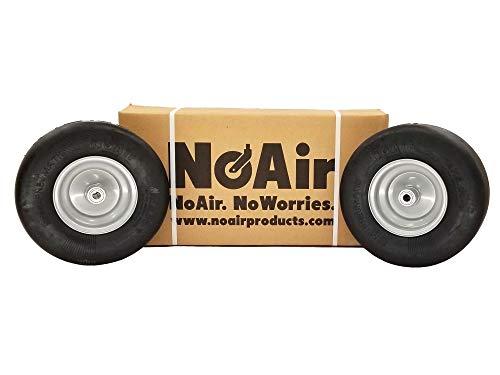 "NoAir (2) Dixie Chopper Flat Free Wheel Assem 13x5.00-6 Fits 42"" to 72"" Replaces 10202 -  MowerPartsGroup"