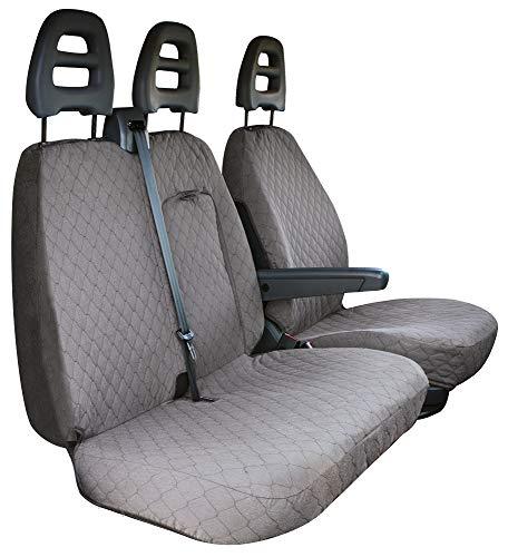CORA 001702562 stoelhoezen voor transporter, copes grijs