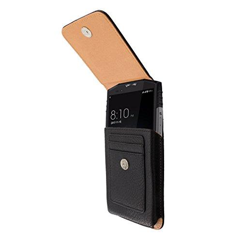 caseroxx Handy Tasche Outdoor Tasche für Ulefone Power 5, mit drehbarem Gürtelclip in schwarz
