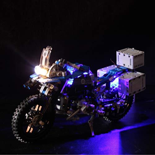 Kit de Iluminación LED para Lego Technic - BMW R 1200 GS Adventure 42063, Kit de Luces Compatible con Lego 42063(No Incluye Modelo Lego)