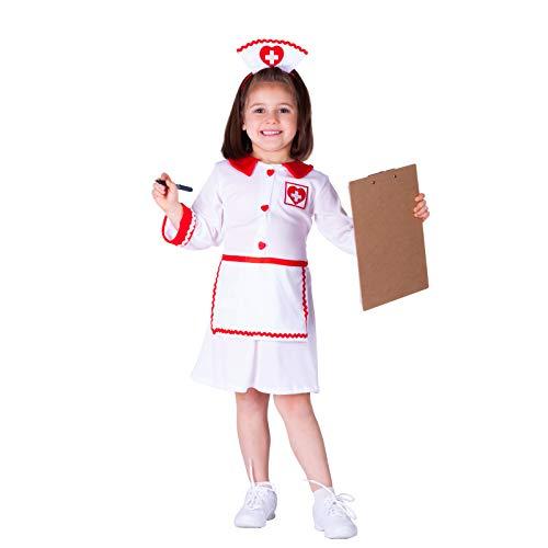 Dress Up America Costume d'infirmière de la Croix-Rouge pour enfants mignons