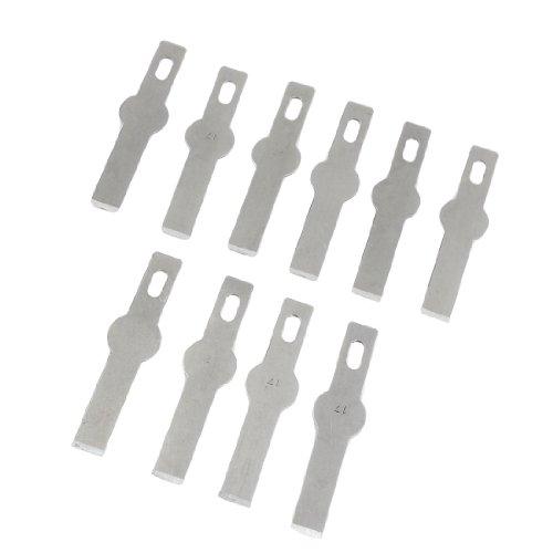 10 pièces de 43 mm x 6 mm x 4 mm à découper Métal set de lames de scie pour bois