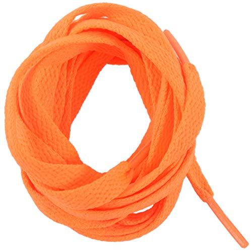 WOVELOT Basket Remplacement 8mm Large Orange plat cordes Lacet Paire