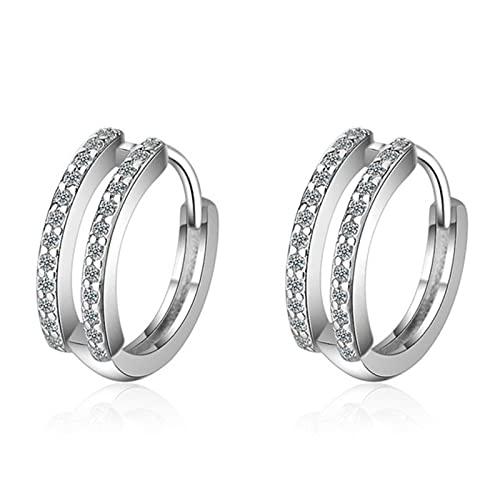 Pendiente de concha de plata de ley 925 para mujeres que hacen joyería, regalo, compromiso de fiesta de boda-CME419