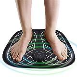 MINGtu Masajeador de pies eléctricos Cojín pies estimulador Muscular Pedal masajea Estera Mejorar la circulación sanguínea aliviar el Cuidado de la Salud del Dolor