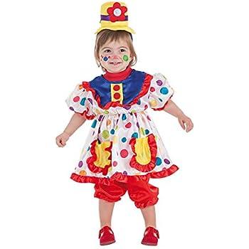 LLOPIS - Disfraz Bebe payasa Tina: Amazon.es: Juguetes y juegos