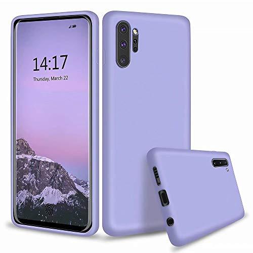 MUTOUREN Samsung Galaxay Note 10 Hülle Flüssig Silikon TPU Schutzhülle Cover Case Voll Schutz Anti-Fall Kompatibel mit Samsung Galaxay Note 10 - Grün
