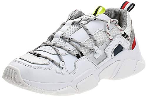 Tommy Hilfiger City Voyager Chunky Mujer Zapatillas Blanco 37 EU