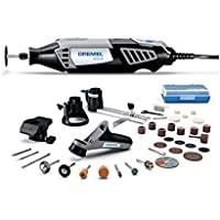 Dremel 4000 Variable Speed Rotary Tool Kit with 4 Attachments and 34 Accessories