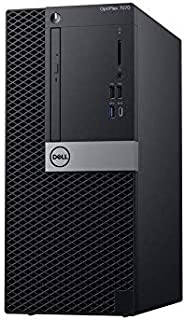 OptiPlex 7070 Tower PC With Core i7-9700 4GB RAM 1TB HDD Integrated Intel Graphics Black