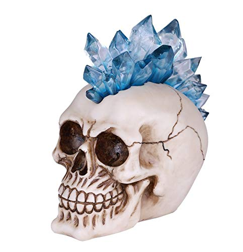Pacific Giftware Crystal Skull Head with LED Light