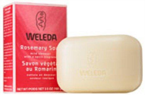 WELEDA Rosmarin Pflanzenseife, 100 g