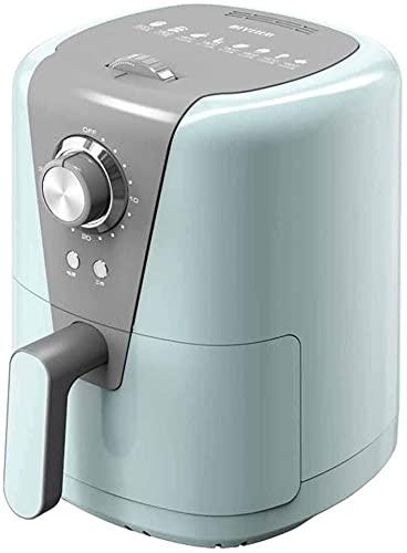 YQLWX Freidora eléctrica sin Aceite, freidora del Aire con Temperatura Constante y Control preciso para calefacción Uniforme, Gourmet Bricolaje Patrón de Cocina, Rosa (Color : Green)