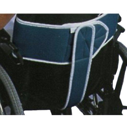 Bauchgurt mit Sitzhose, groß blau, Gurte und Fixierungen