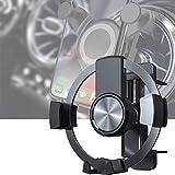 Round Car Phone Holder, Mobile Phone Holder for Round Ventilation Holes, Car Holder Protection Against Mobile Phone Holder for All Smartphones