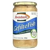 Manischewitz Jelled Gefilte Fish, 24 Ounce - 12 per case.