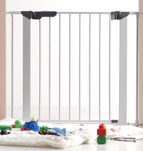 BabyDan - Premier Indikator - Barrière de sécurité enfant - Argent