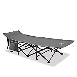 top 10 araer camping cot Alpha Camp Oversized Camp Bed Supports £ 600, Sleeper Bed, Folding Steel Frame,…
