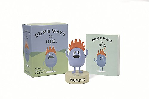 Dumb Ways to Die: Numpty Figurine and Songbook (RP Minis)