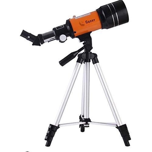 GGPUS Refraktor-Teleskop mit Sucher-Bereich, bewegliches Teleskop für für das Vogel-aufpassende kampierende Jagd-wild lebende Tier-Reisen, bis zu 180mal