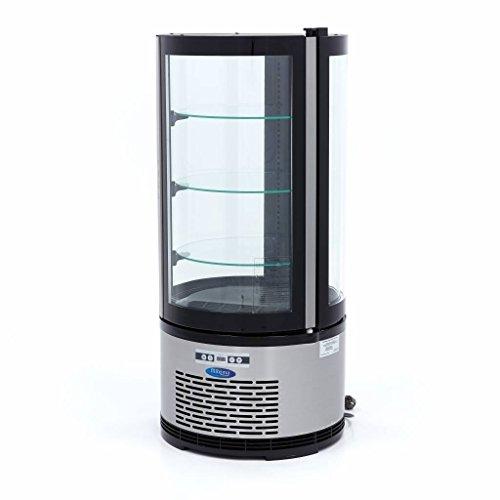 Gebäck - Vitrina refrigerante (100 L), color negro