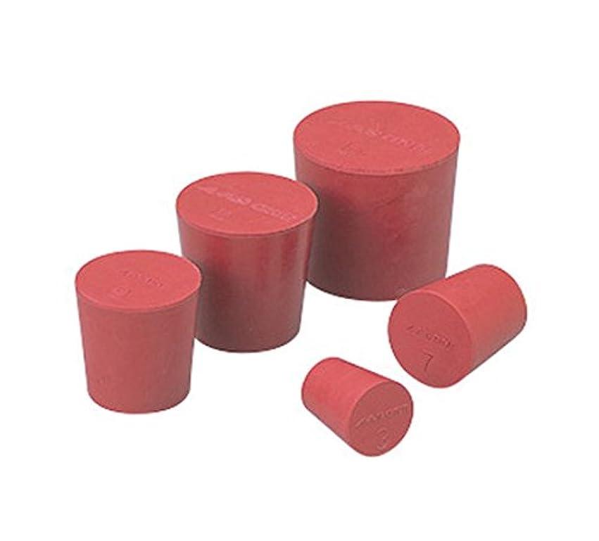 助言細菌アームストロングアズワン 赤ゴム栓 11号/6-337-11