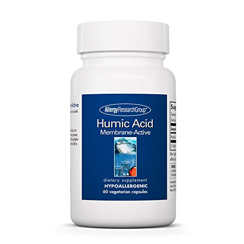 Allergy Research Group - Humic Acid - Membrane Active - Immune Support - 60 Vegetarian Capsules