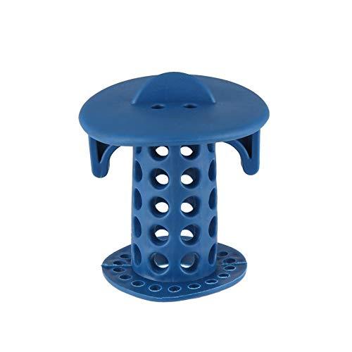 Weehey 1 Pz Silicone Sink Drain Filtro Vasca da Bagno Capelli Catcher Stopper Trapper Filtro Foro di Scarico Filtro a Forma di Stella per Bagno Cucina Toliet