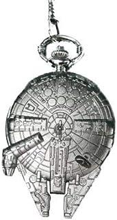 Accutime Star Wars Millennium Falcon Reloj de Bolsillo