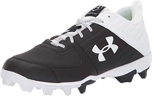 Under Armour Men's Leadoff Low RM Running Shoe, Black (001)/White, 13