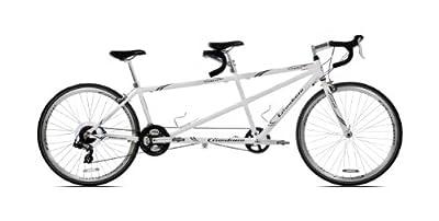 Giordano Viaggio Tandem Road Bike, 700c, White Pearl