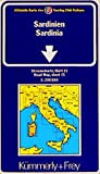 Carte routière : Sardaigne