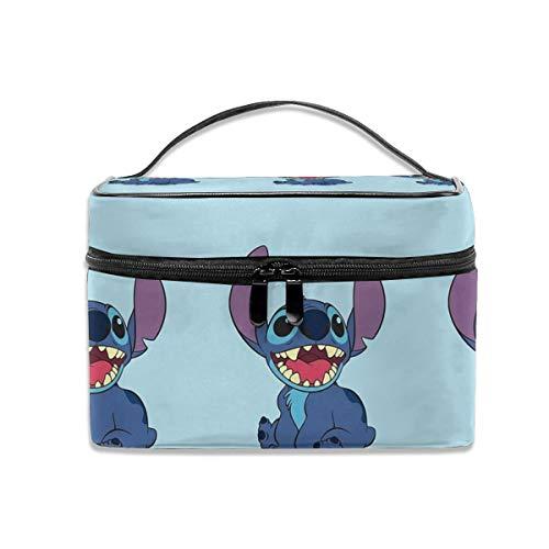Bolsa de cosméticos Lilo y Stitch portátil de viaje bolsa de maquillaje organizador de cosméticos multifunción bolsas de aseo caso de almacenamiento